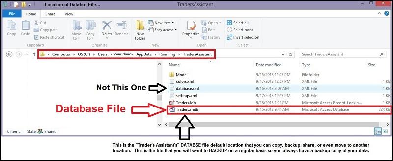 TA_Database_Location